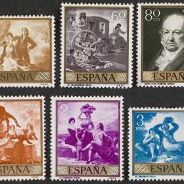 Serie de sellos Goya