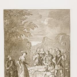 Funeral de Crisóstomo y defensa de Marcela