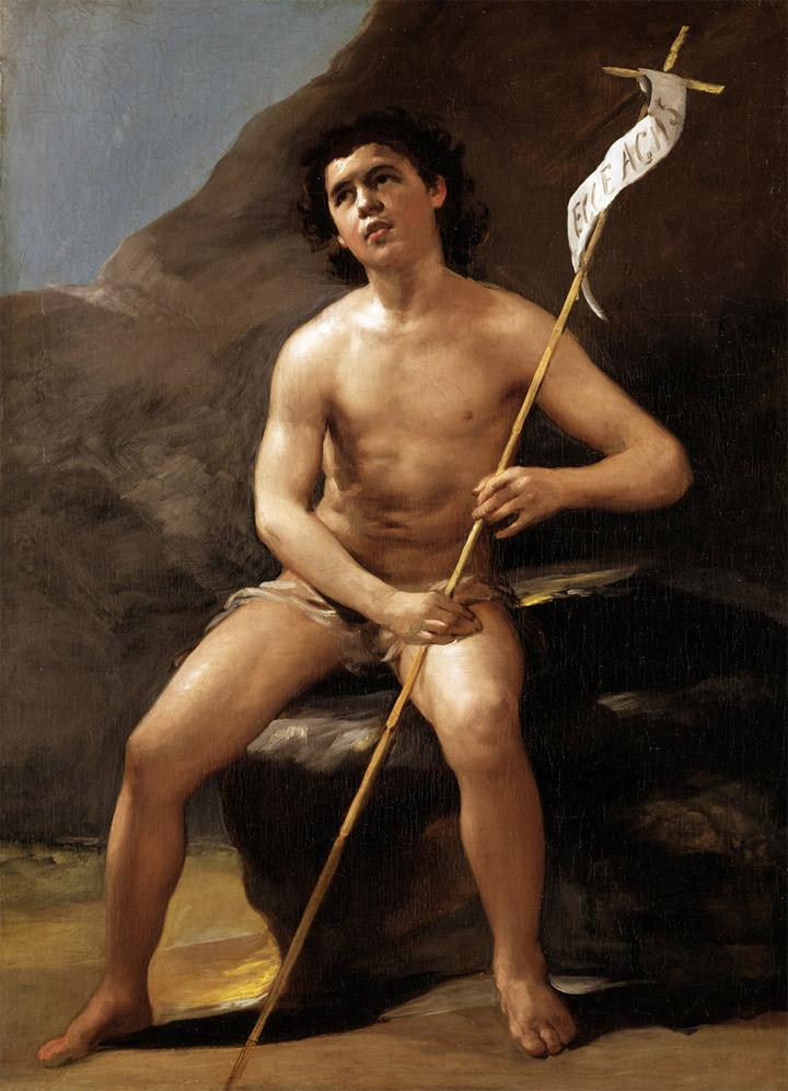 <p>Francisco de Goya,<em>San Juan Bautista niño, en el desierto</em>, hacia 1810-12, Madrid, Museo del Prado</p>