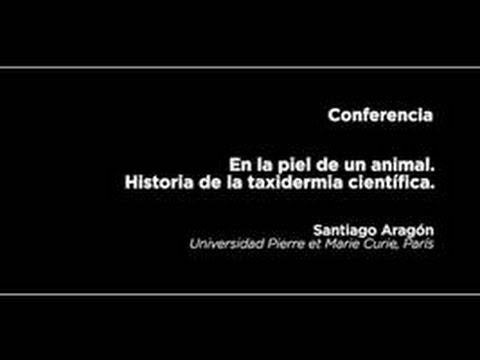 Conferencia: En la piel de un animal. Historia de la taxidermia científica