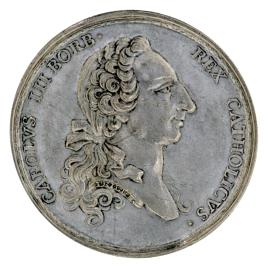 Proclamación de Carlos III en Madrid, 1759