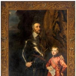 El conde de Arundel y su nieto Thomas