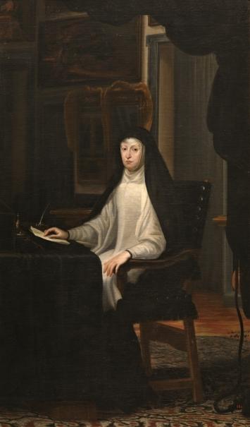 La reina Mariana de Austria