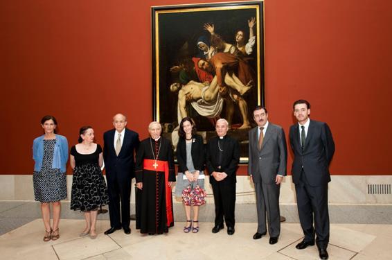 El Museo del Prado recibe El Descendimiento de Caravaggio, obra maestra procedente de los Museos Vaticanos