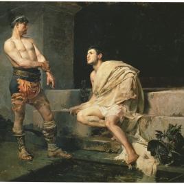 Gladiadores después del combate