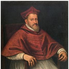 El cardenal Andrea de Austria