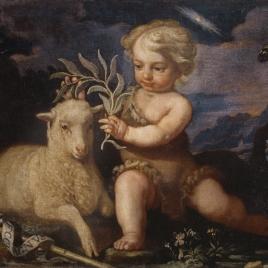 San Juan Bautista niño con el Cordero