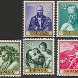 Serie de sellos José de Ribera el Españoleto
