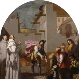 El prior Boson resucita a un albañil