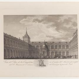 Patio de los Evangelistas, Real Monasterio de San Lorenzo de El Escorial