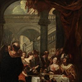 El festín de Herodes (boceto)