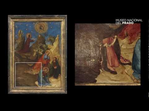 Restoration of the painting The Agony in the Garden with the Donor, Louis d'Orléans