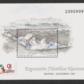 Serie de sellos Exfilna 91