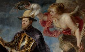 Restauración de Felipe II a caballo de Rubens