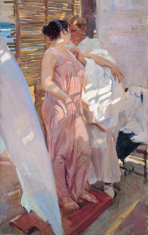 Hacia 1915. Regreso a su orden artístico