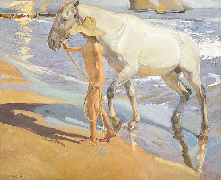 En torno a 1909: la playa de la Malvarrosa