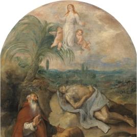 La muerte de San Pablo Ermitaño