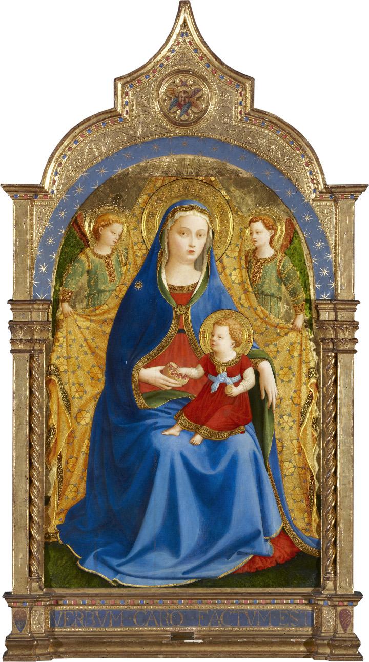 """El Museo del Prado adquiere la """"Virgen de la granada"""" de Fra Angelico de la colección Casa de Alba"""
