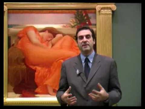 La Bella Durmiente. Pintura victoriana del Museo de Ponce