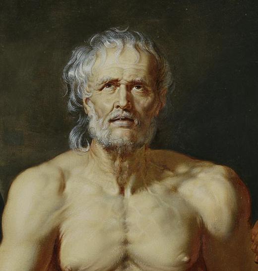 <p><em>The death os Seneca</em>, anonymus, 1612 - 1615</p>