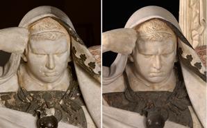 Restauración de Nerón y Séneca, de Eduardo Barrón