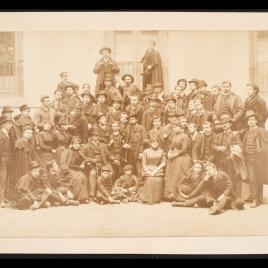Luis de Madrazo y sus alumnos del curso 1887-1888