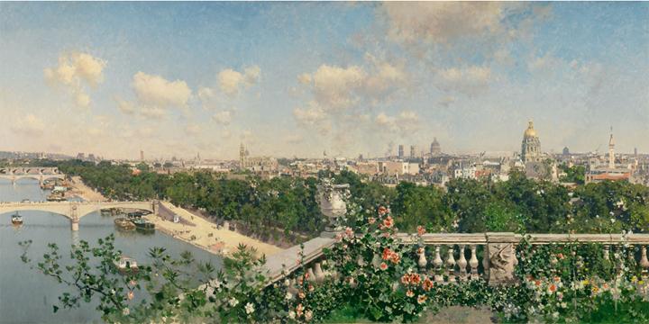 Vistas francesas e italianas (1872-1886)