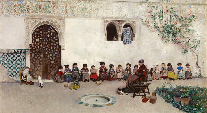 Granada, Seville, Toledo and other Spanish locations (1870-1893)