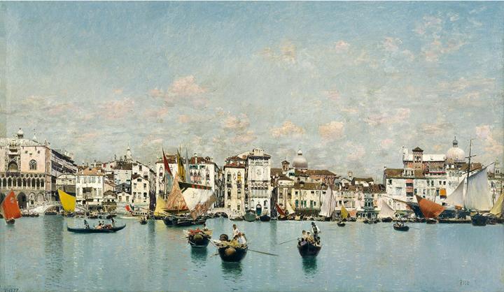 Vistas venecianas (1873-1908)