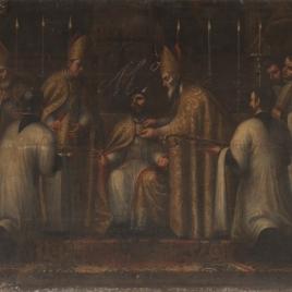 San Agustín discutiendo con el maniqueo Fortunato