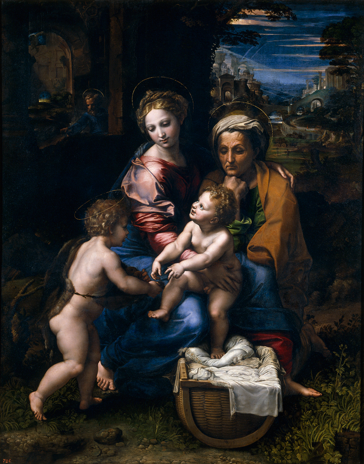 Large Madonnas and Holy Families