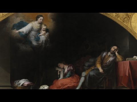 Commented works: The Foundation of Santa Maria Maggiore in Rome. The Patrician's Dream by Bartolomé Esteban Murillo