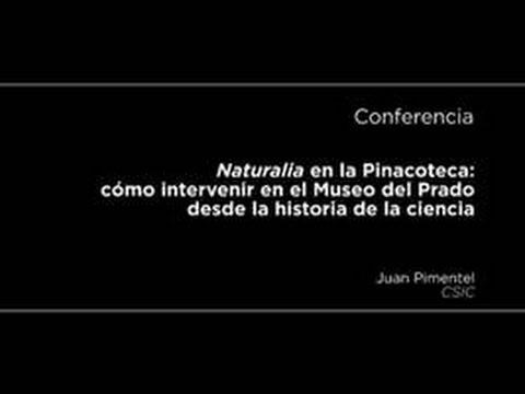 Conferencia: Naturalia en la Pinacoteca: cómo intervenir en el Museo del Prado desde la historia de la ciencia