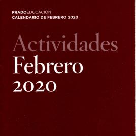 Actividades : febrero 2020 : Prado Educación : calendario de febrero 2020 / Museo Nacional del Prado