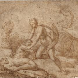 Diana recostando a Endimión dormido
