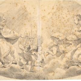 San Petronio y Santa Catalina