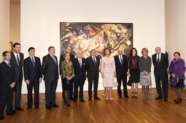 S.M. la Reina de España inaugura la exposición 'El Hermitage en el Prado'