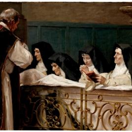 La comunión de las monjas