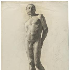 Academia. Desnudo masculino