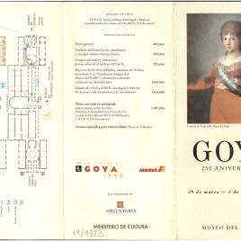 Goya : 250 aniversario.