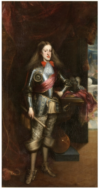 Charles II in armour