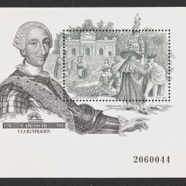 Serie de sellos Carlos III y la Ilustración