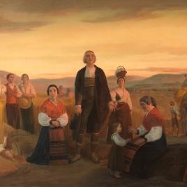 La oración. Costumbres de la provincia de Salamanca