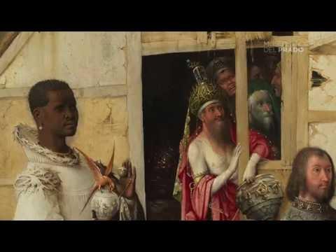 Restauración: El tríptico de la Adoración de los Magos, del Bosco