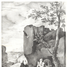 Saint Anthony Abbot and Saint Paul the Hermit