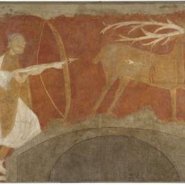 Cacería del ciervo. Ermita de San Baudelio. Casillas de Berlanga (Soria)