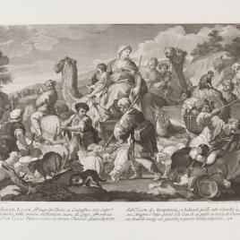 Salida de Jacob y su familia de Mesopotamia
