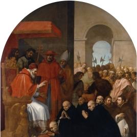 San Bruno y sus compañeros ante Urbano II