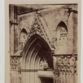 Portada de la Iglesia de Santa María del Mar en Barcelona