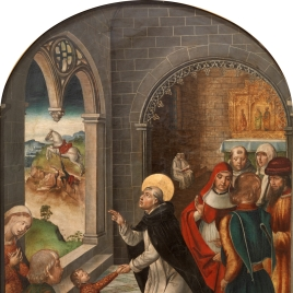 Saint Dominic resurrects a Boy
